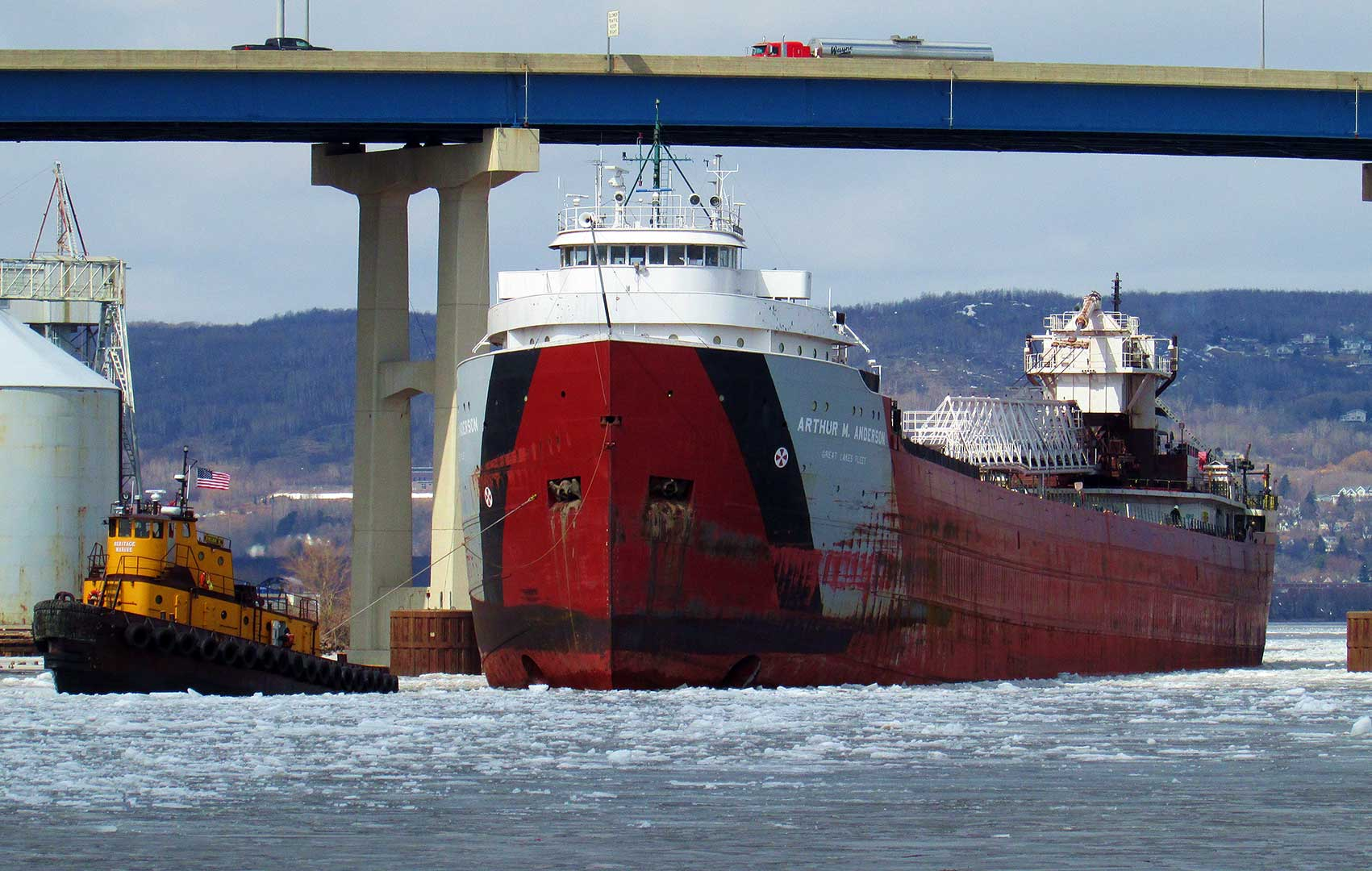 Great Lakes & Seaway Shipping News Archive April 2019