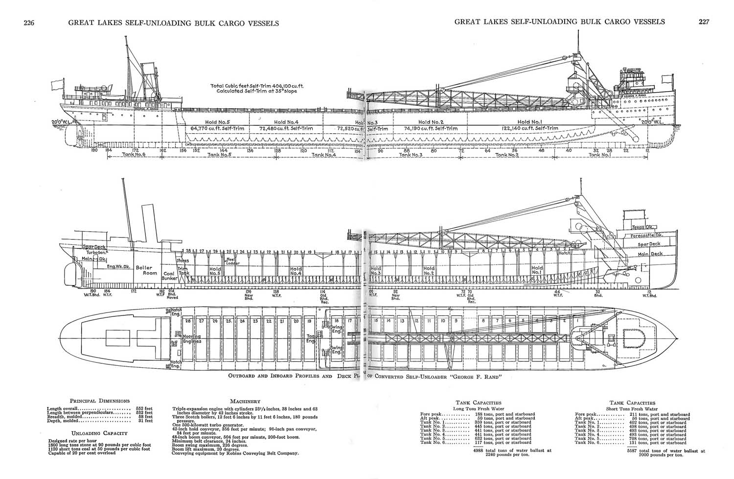 freighter diagrams  looking for sheer plan of a simple modern cargo ship. #15